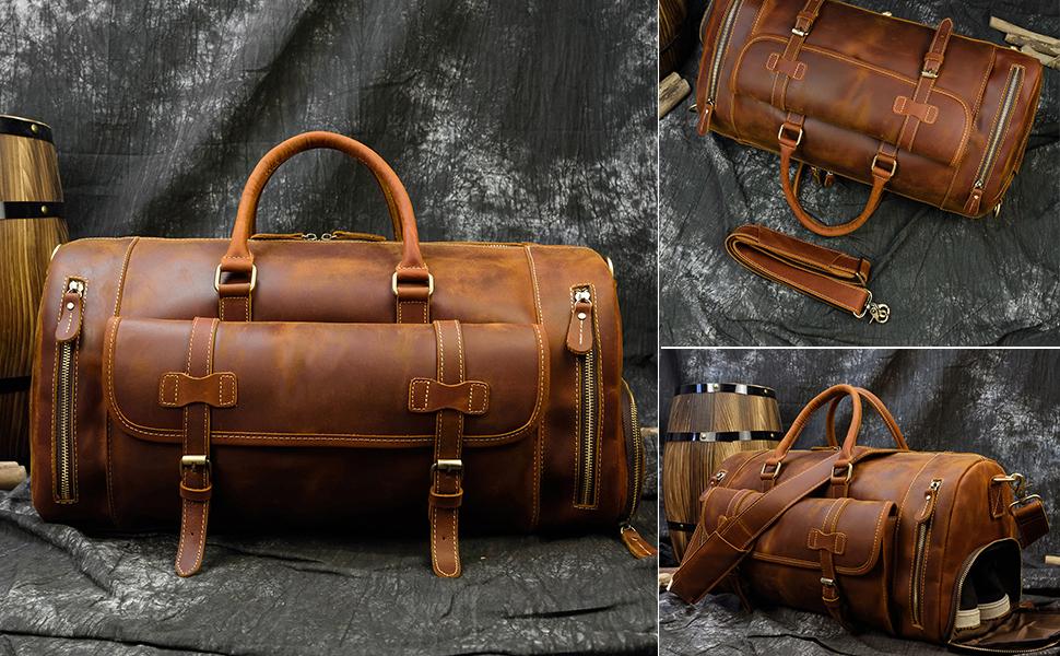 modeles de sacs de voyage en cuir